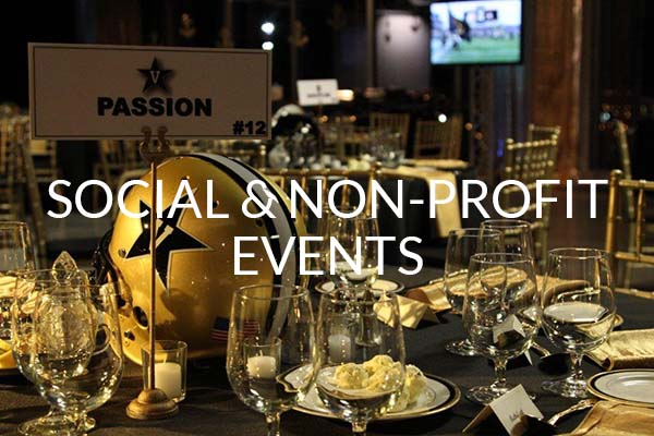 Social and Non-Profit Events